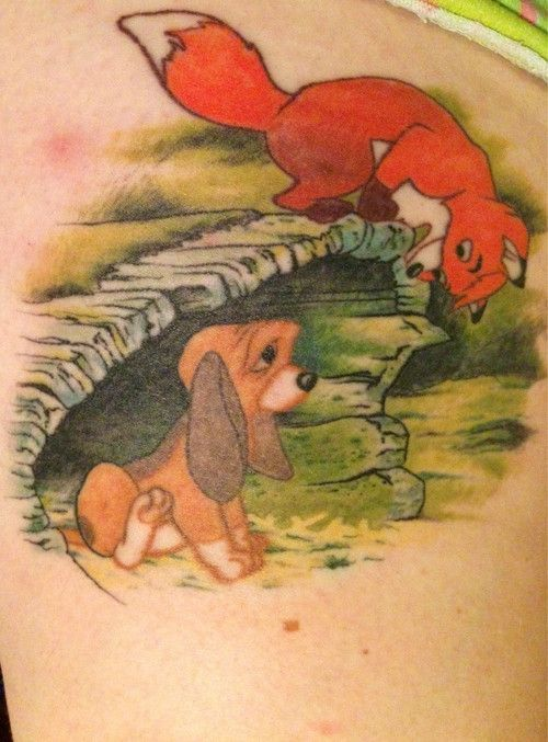 Omg Only Because Fox And The Hound Is My Fav Disney Movie. So Precious!