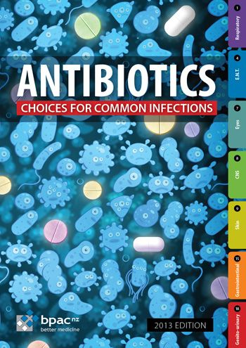 Guide for antibiotics by infection