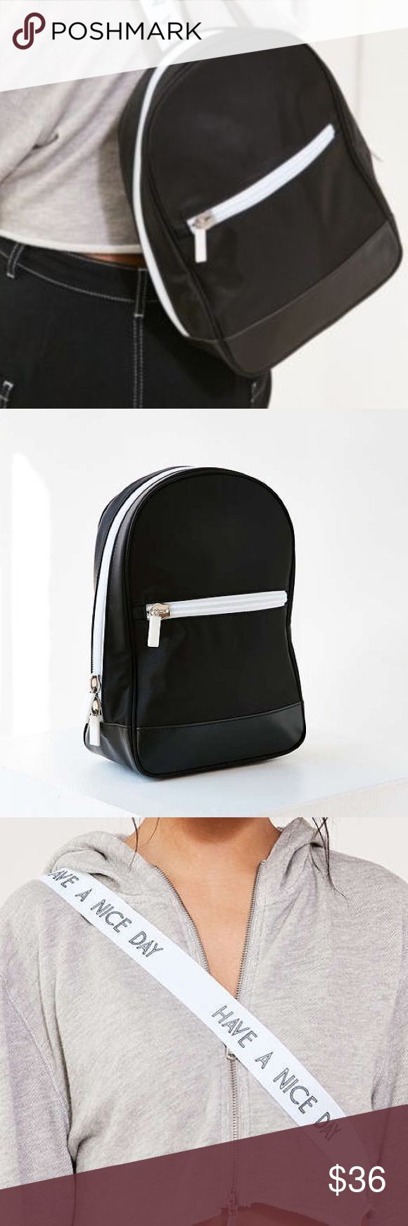 💕NWT Lizzie Urban Outfitters Backpack Pep up your day with modern sporty minimalism with this canvas backpack, found only at Urban Outfitters. Zip-around ... Urban Outfitters Bags Backpacks