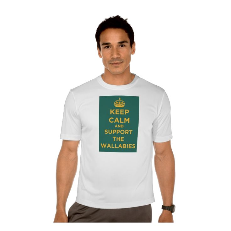 Keep Calm And Support The Wallabies - T-Shirt. http://www.zazzle.com/keep_calm_and_support_the_wallabies_t_shirt-235299417034303753 #KeepCalm #Wallabies #Tshirt #rugby #$sport #humour #humor #Australia