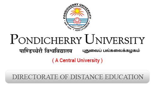 Pondicherry University - Directorate of Distance Education