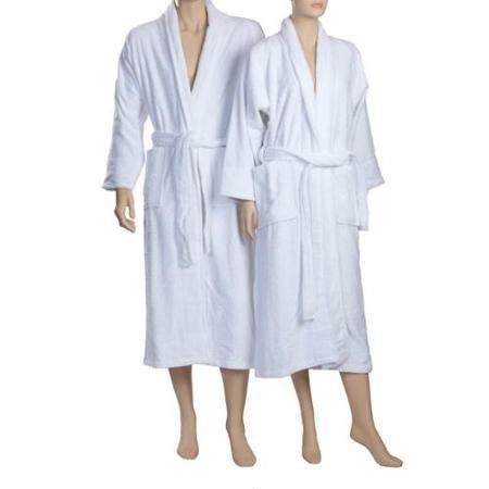 Unisex Terry Cloth Robe 100 Egyptian Cotton Hotel/Spa