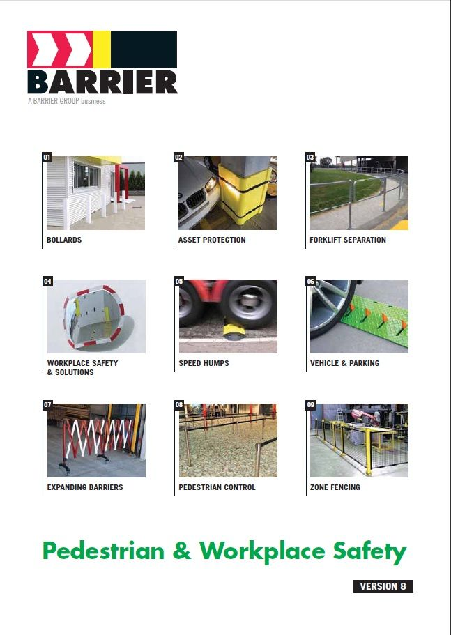 Barrier designs, develops, manufactures and supplies a wide range of warehouse safety, road safety, crowd control and forklift separation products for private, institutional and occupational environments.