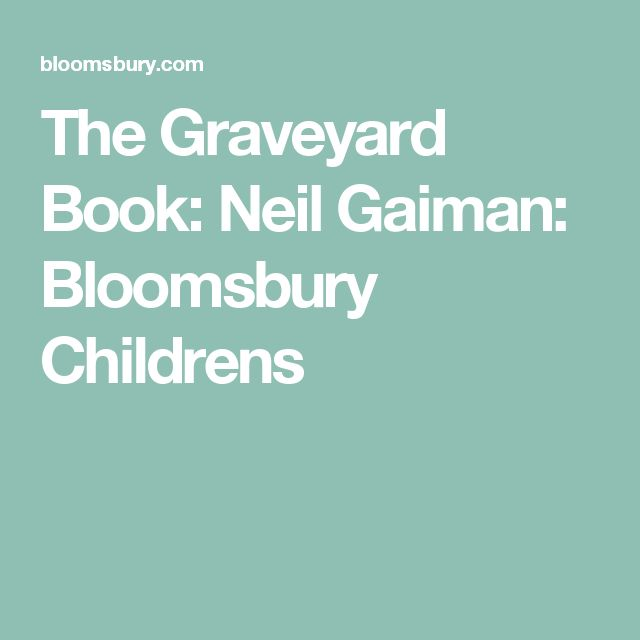 the graveyard book by neil gaiman essay The graveyard book is a children's fantasy novel by the english author neil gaiman, simultaneously published in britain and america during 2008.