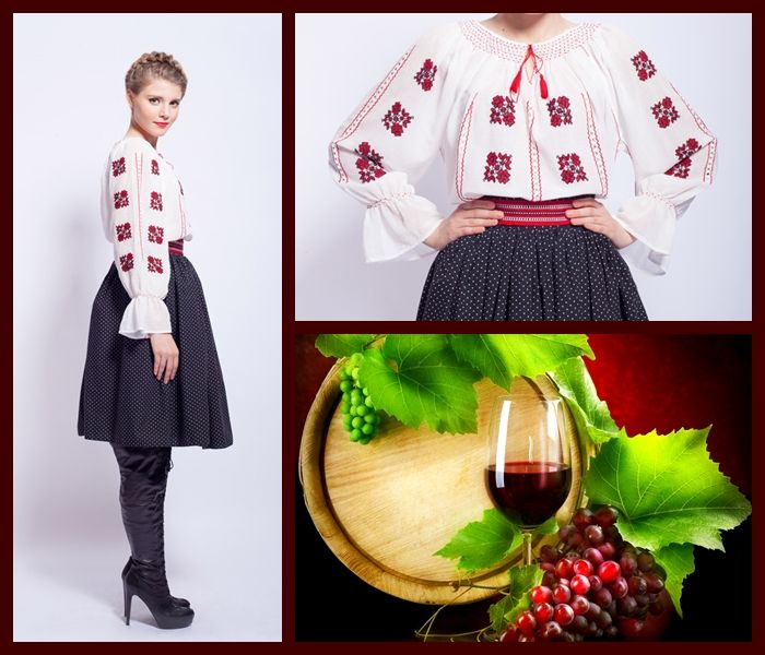 Autumn, the perfect season to wear a beautiful #romanianblouse #romanianlabel