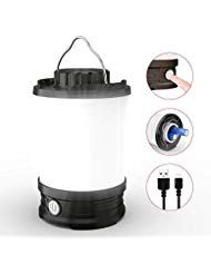 Hoteck Campinglampe LED Camping Laterne IPX5 wasse…