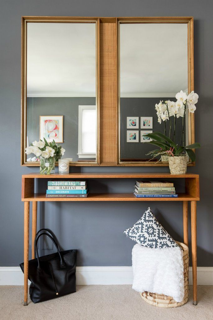 Customize Your Space Build A Midcentury Modern Console Table