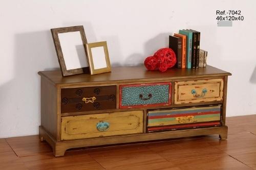 mesa para tv colorida Consolas y entradas, Muebles de comedor, Muebles de Interior, TODOS mia home
