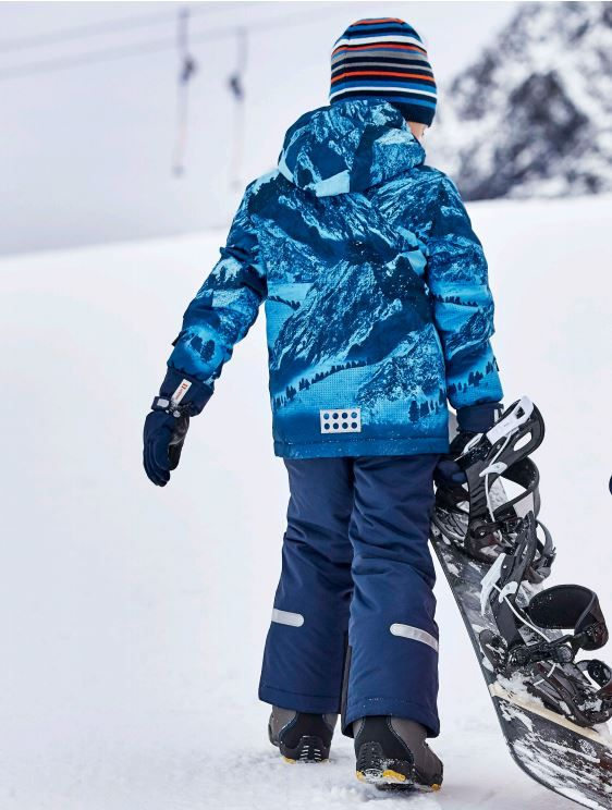 219c75b0e2 Lego Tec Jakob Boys Ski Jacket from the Sport 2018 collection - cool  mountain graphic on