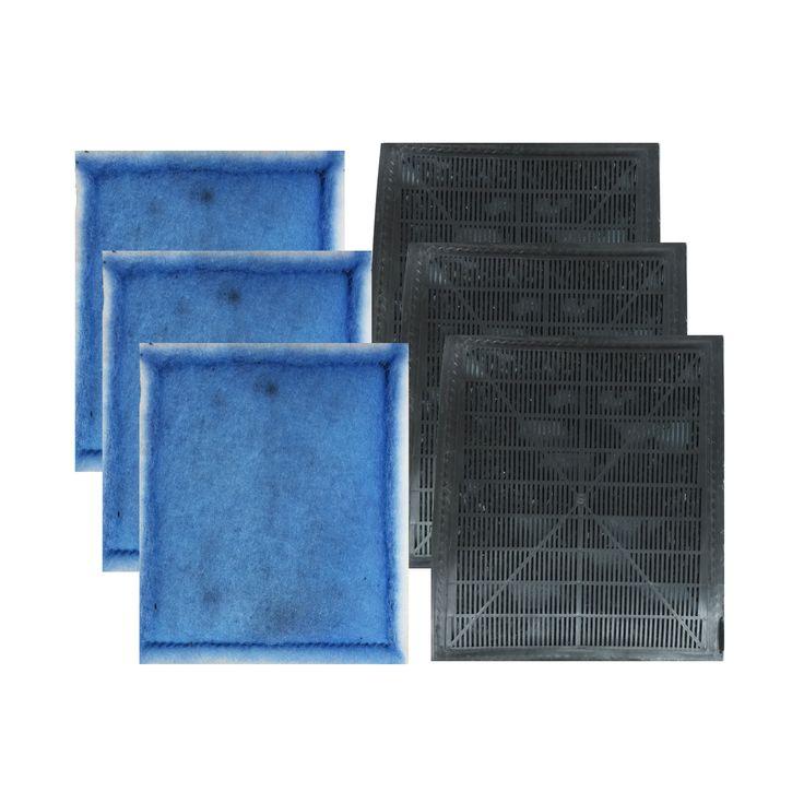 Think-Crucial Aquarium Filter Cartridge Replacements for Aqua-Tech 20-40 and 30-60