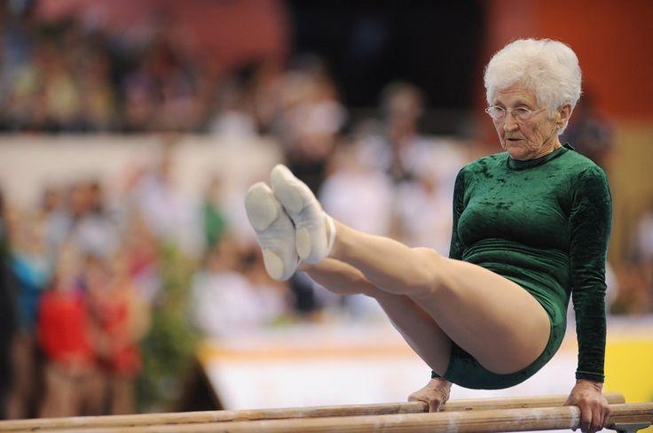 Participer à un concours de gymnastique à 92 ans ? Une Allemande l