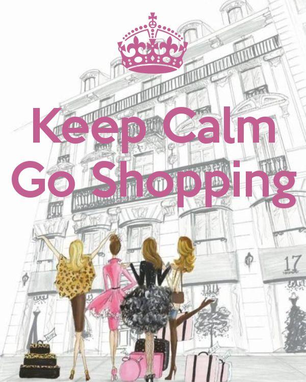 Keep Calm Go Shopping - by JMK