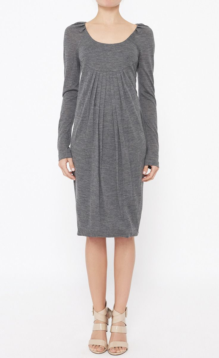 Ports 1961 Grey Dress
