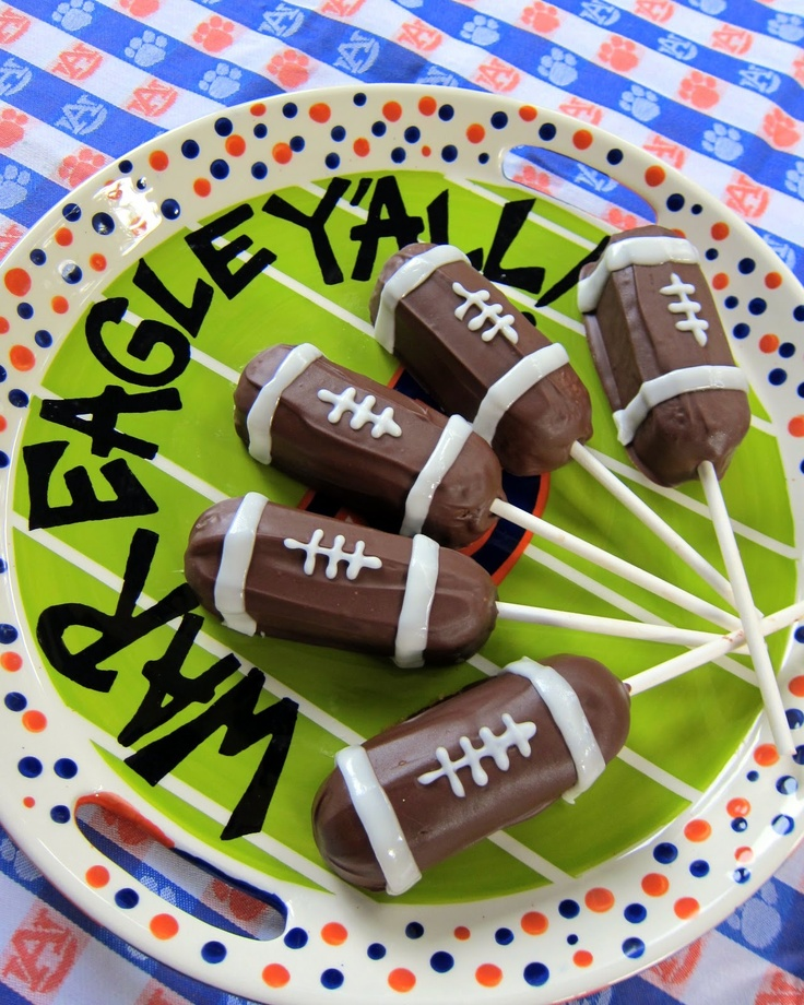 Football Twinkie Pops