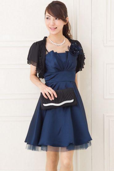 黒ボレロが美しい。結婚式で着る親族衣装まとめ。ウェディング・ブライダルの参考に。