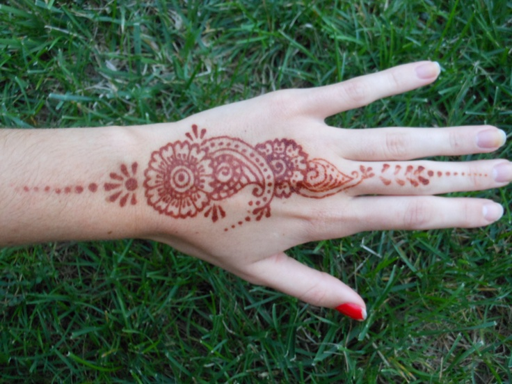 My henna from a few months ago