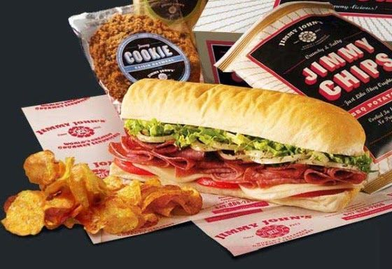 Jimmy John's FREE Potato Chips, Pickle, Cookie, or