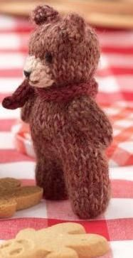 teddy bear knitting pattern