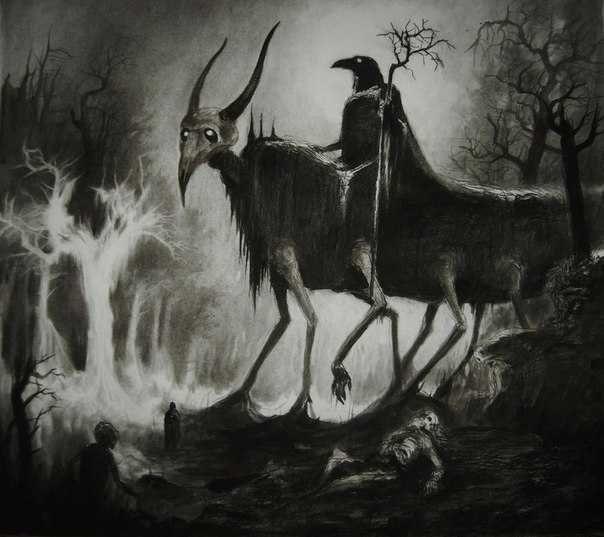 Достаточно мрачные картины от Русского художника под ником ……. | Арт и искусство