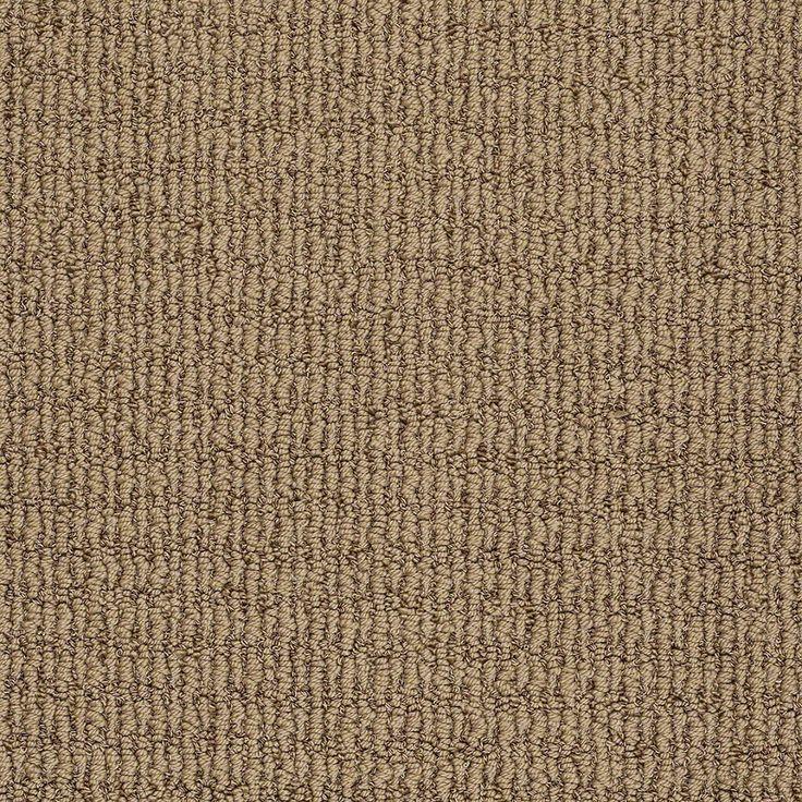 shop stainmaster trusoft willow bark berber carpet at lowescom