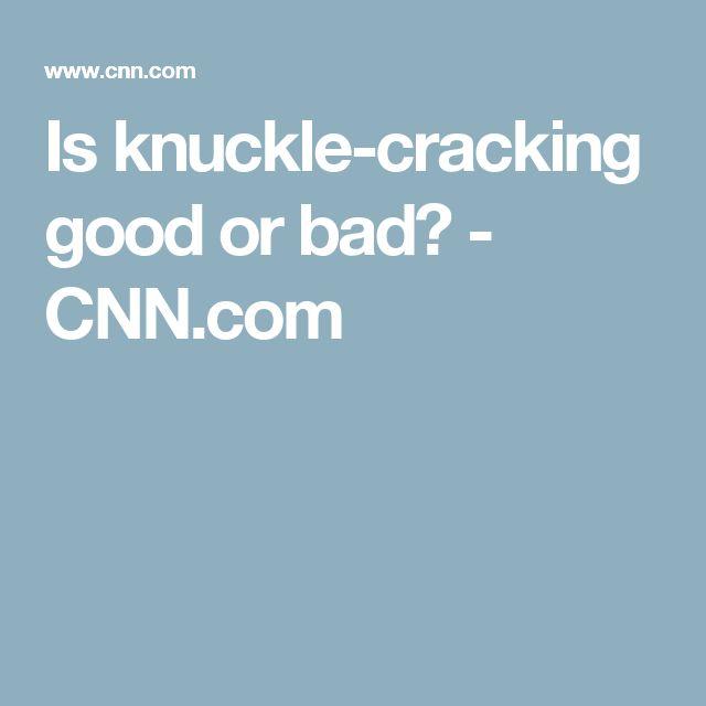 Image Result For Cracking Joints Good Or Bad