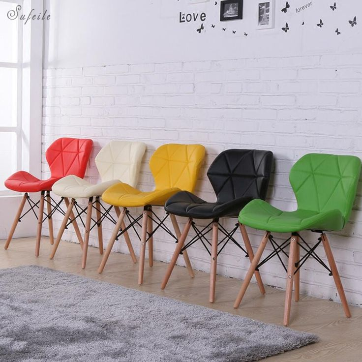 Outdoor folding chair Wooden outdoor office folding chair Modern simple folding chair Living room dining room Leisure chair D5