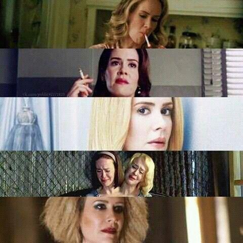 "American Horror Story - Billie dean howard / lana ""banana"" winters / cordelia foxx / bett & dot taters / hipodermic sally"