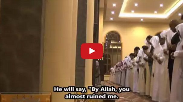 Here is an emotional recitation of the #Quran. Surah As-Saffat 40-74. There are English subtitles as well: