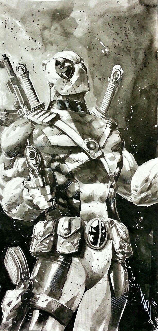 Deadpool by Alan Quah