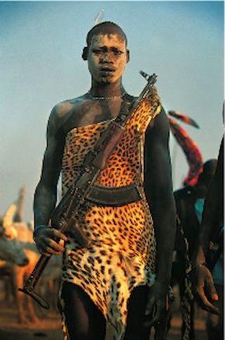Maria Preta: Extraordinárias fotos da tribo Dinkas - Sudão