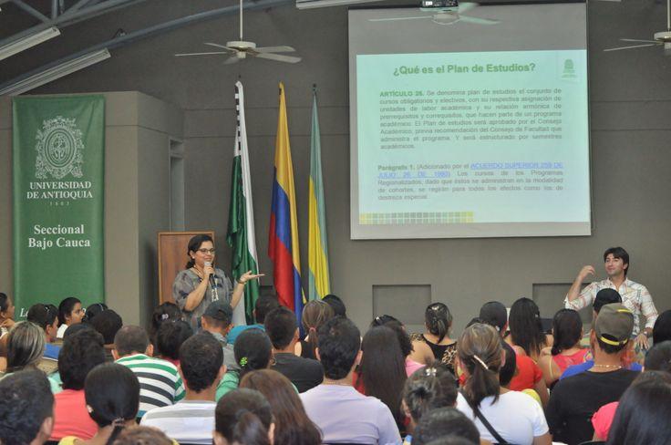 Momentos vividos en el proceso de inducción de los nuevos estudiantes admitidos en la UdeA seccional Bajo Cauca