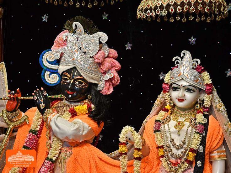 Hare Krishna Temple Ahmedabad Deity Darshan 20 Jan 2018 (2)