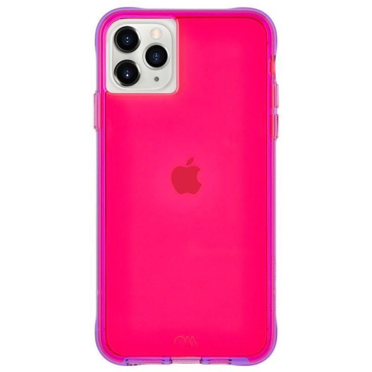Casemate iphone 11 pro max tough neon pink case pink