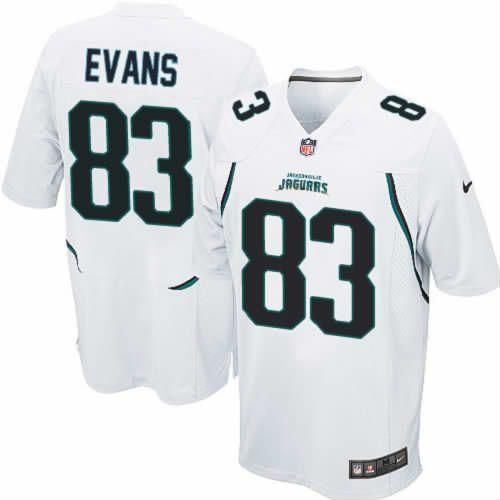 Lee Evans Jersey Jacksonville Jaguars #83 Youth White Limited Jersey Nike NFL Jersey Sale