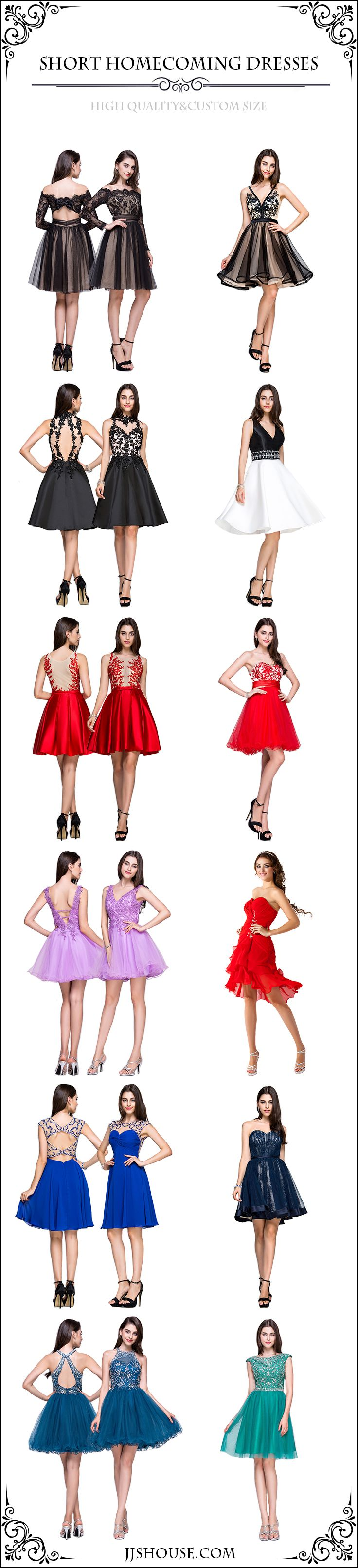 Choose one! Short Homecoming Dresses! #Homecomingdresses High quality & Custom size