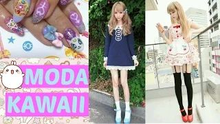 OUTFITS KAWAII, UÑAS KAWAII