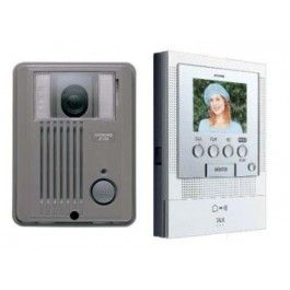 Aiphone Colour Intercom Kit JF2 Handsfree with Plastic Door Station
