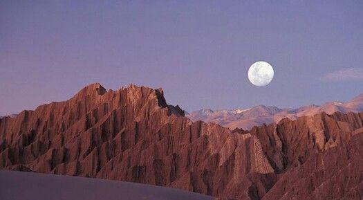 Valle de la luna. Norte de Chile. Desierto de Atacama