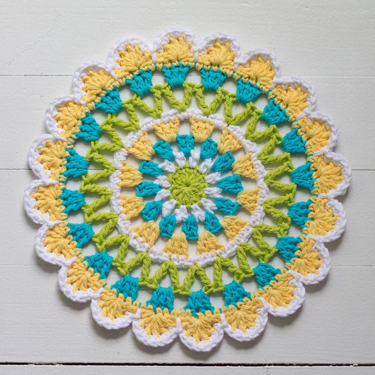 Abstract Flower Motifs (8 Motifs In Collection) By Kate Jenks - Free Crochet Patterns - (ravelry)