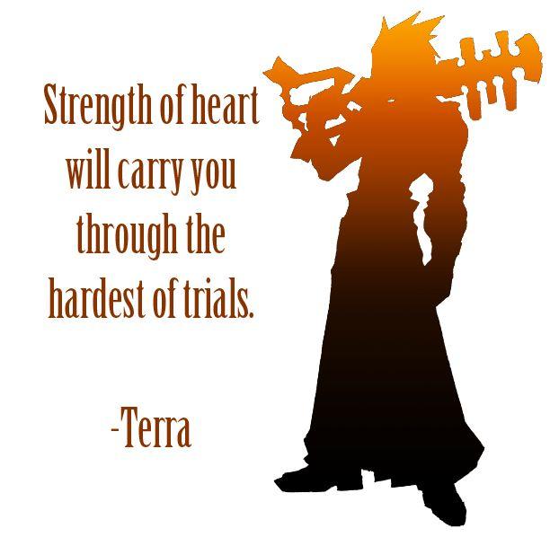 Terra Kingdom Hearts Terra Pinterest Kingdom Hearts Kingdom Delectable Kingdom Hearts Quotes