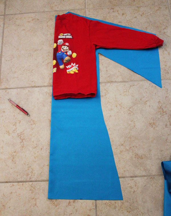 cut satin for wizard costume