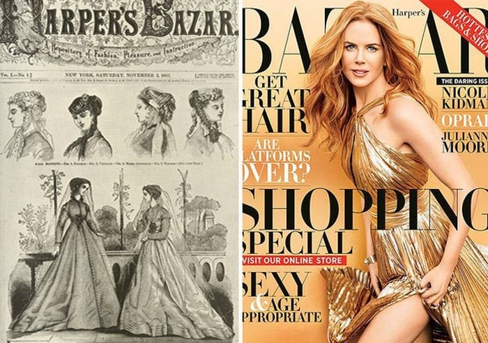 (WOW) Difference made in women magazine covers THEN-and-NOW