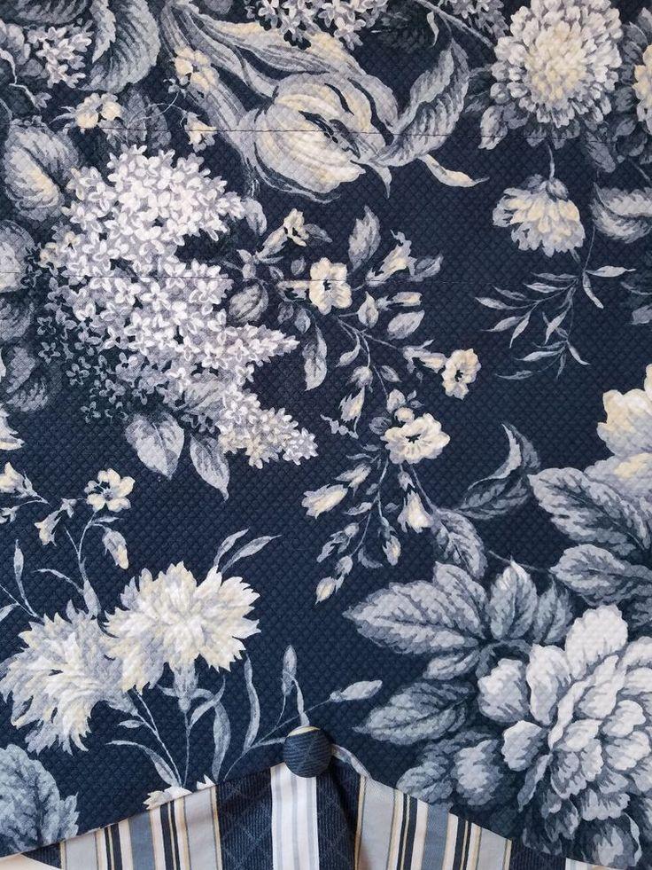 Waverly fabric the small farm valances — 8