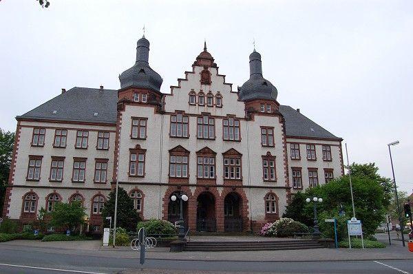 Rathaus in Hamm (Westfalen)  im Ruhrgebiet