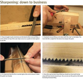 Saw Sharpening Masterclass - Part 2 - Hand tools