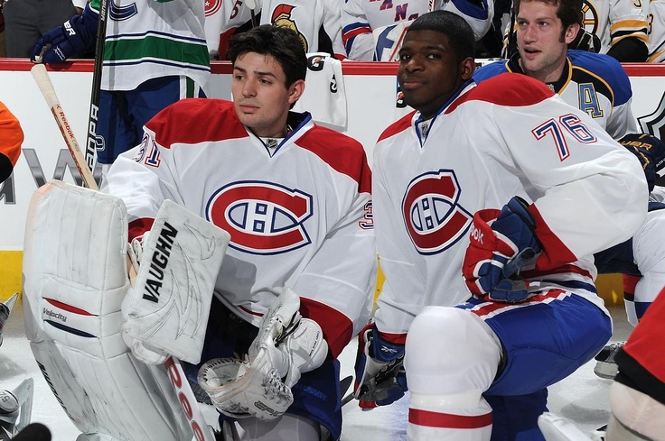 Carey Price and PK Subban -- largely irrelevant right now.