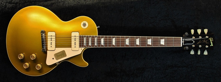 Gibson Custom LPR4 54 VOS Les Paul Antique Goldtop | Coda Music
