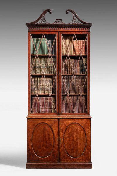 George III Period Mahogany Bookcase (Ref No. 7082) - Windsor House Antiques