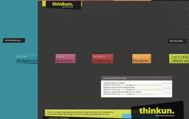 Thinkun - home page