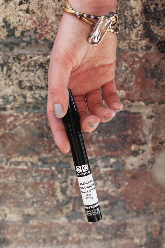 Blender pen for photo transfer